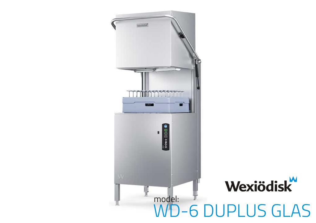 Съдомиялна - WD-6 DUPLUS GLAS